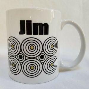 Personalized Name Jim White Coffee Mug Tea Cup